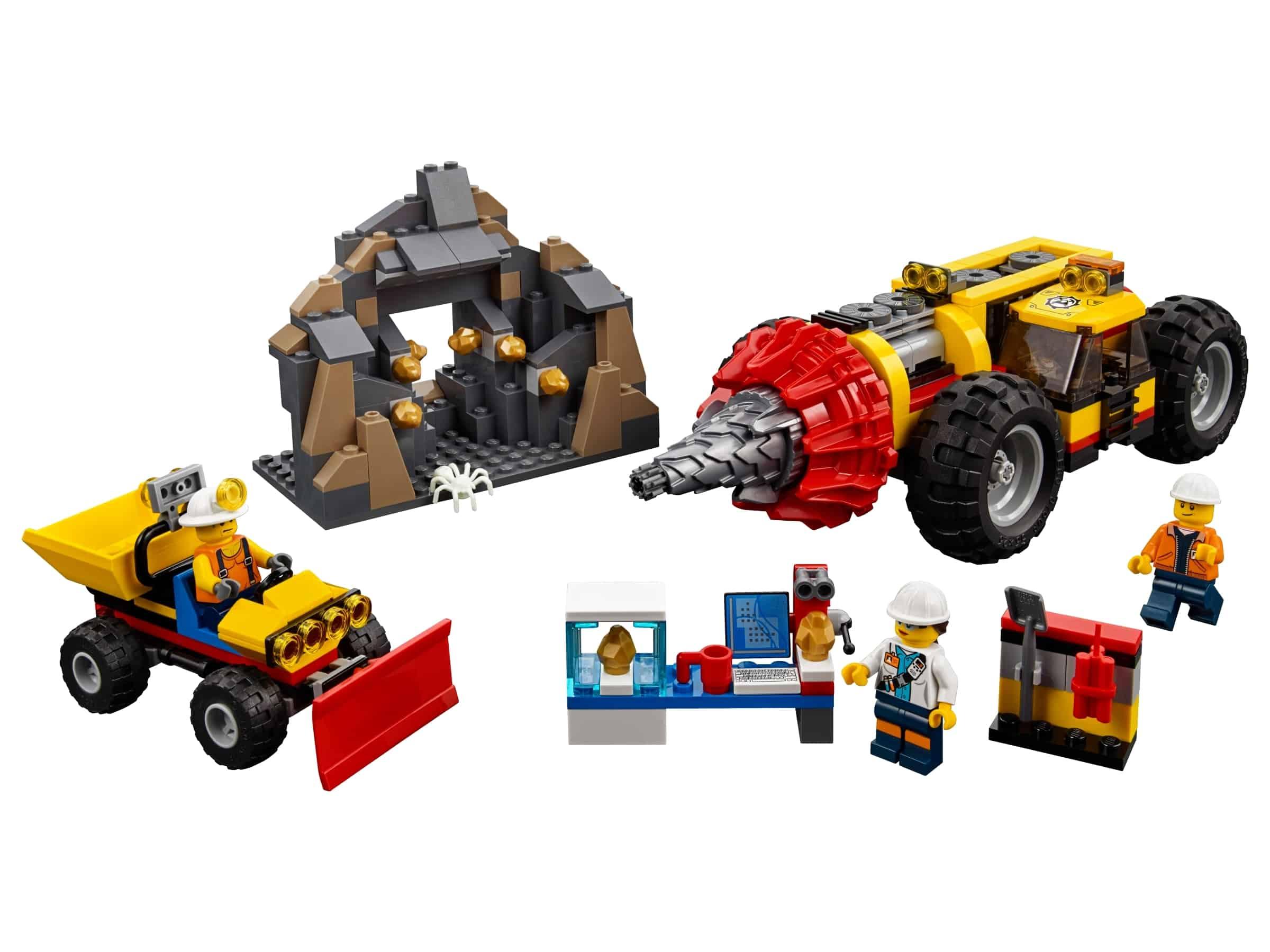 lego zware mijnbouwboor 60186