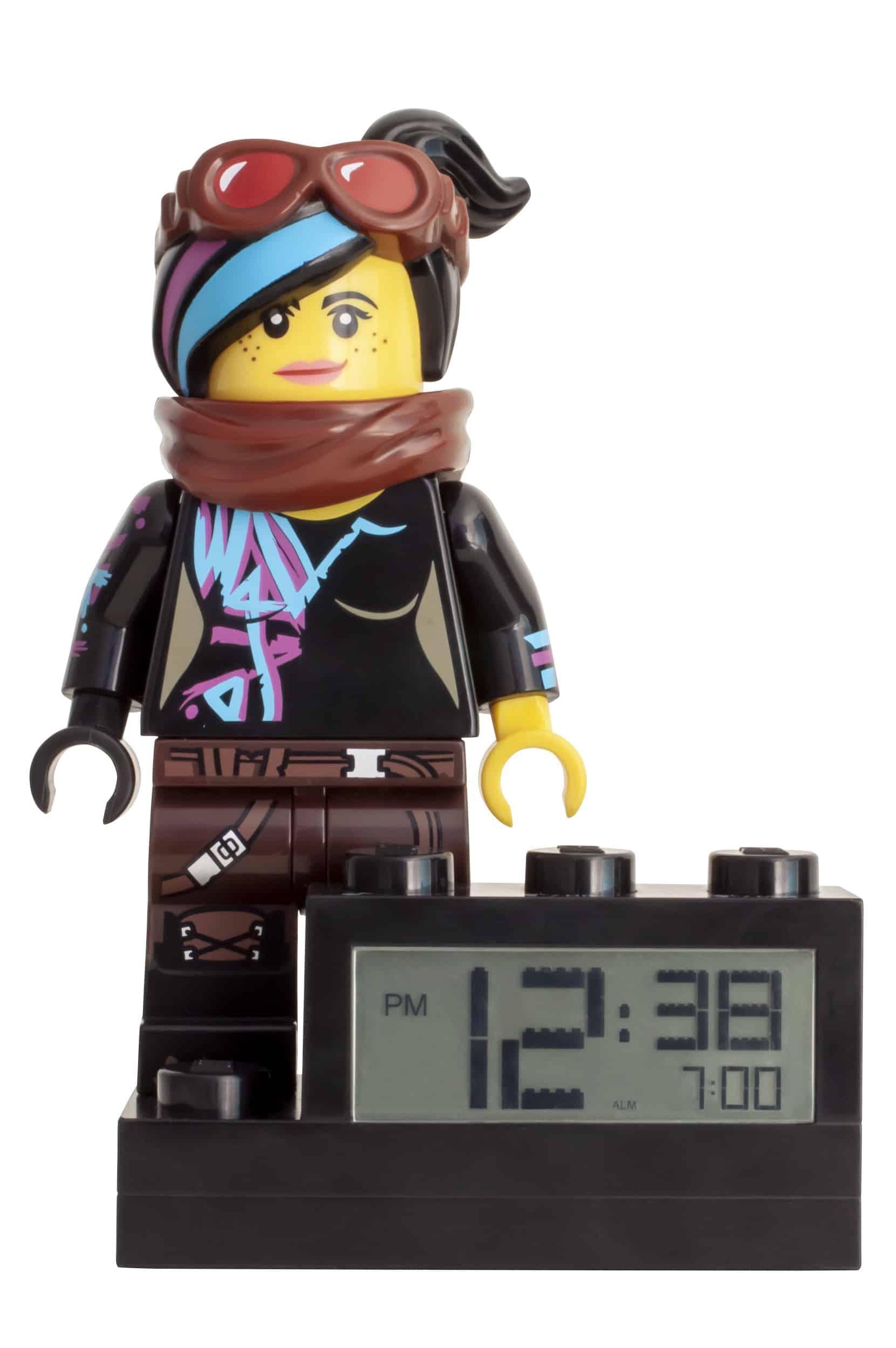 the lego movie 2 wyldstyle wekker 5005699