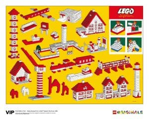 yellow spread lego system brochure 1958 5006005