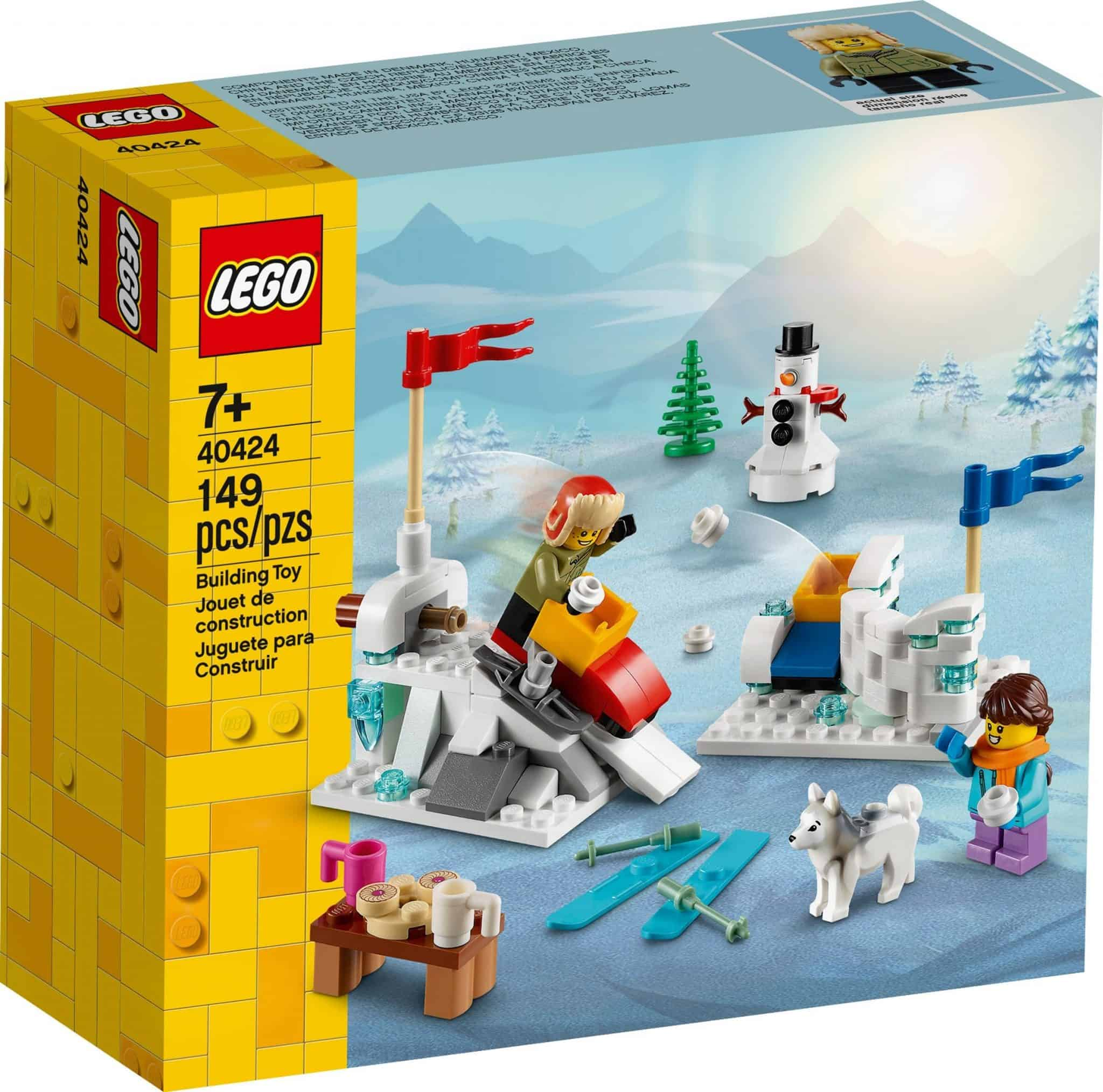 LEGO 40424 Winter Snowball Fight
