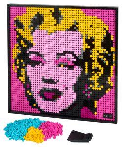 LEGO Andy Warhol's Marilyn Monroe 31197