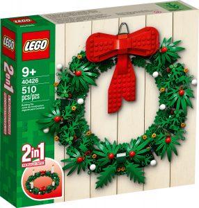 LEGO 40426 Kerstkrans 2-in-1