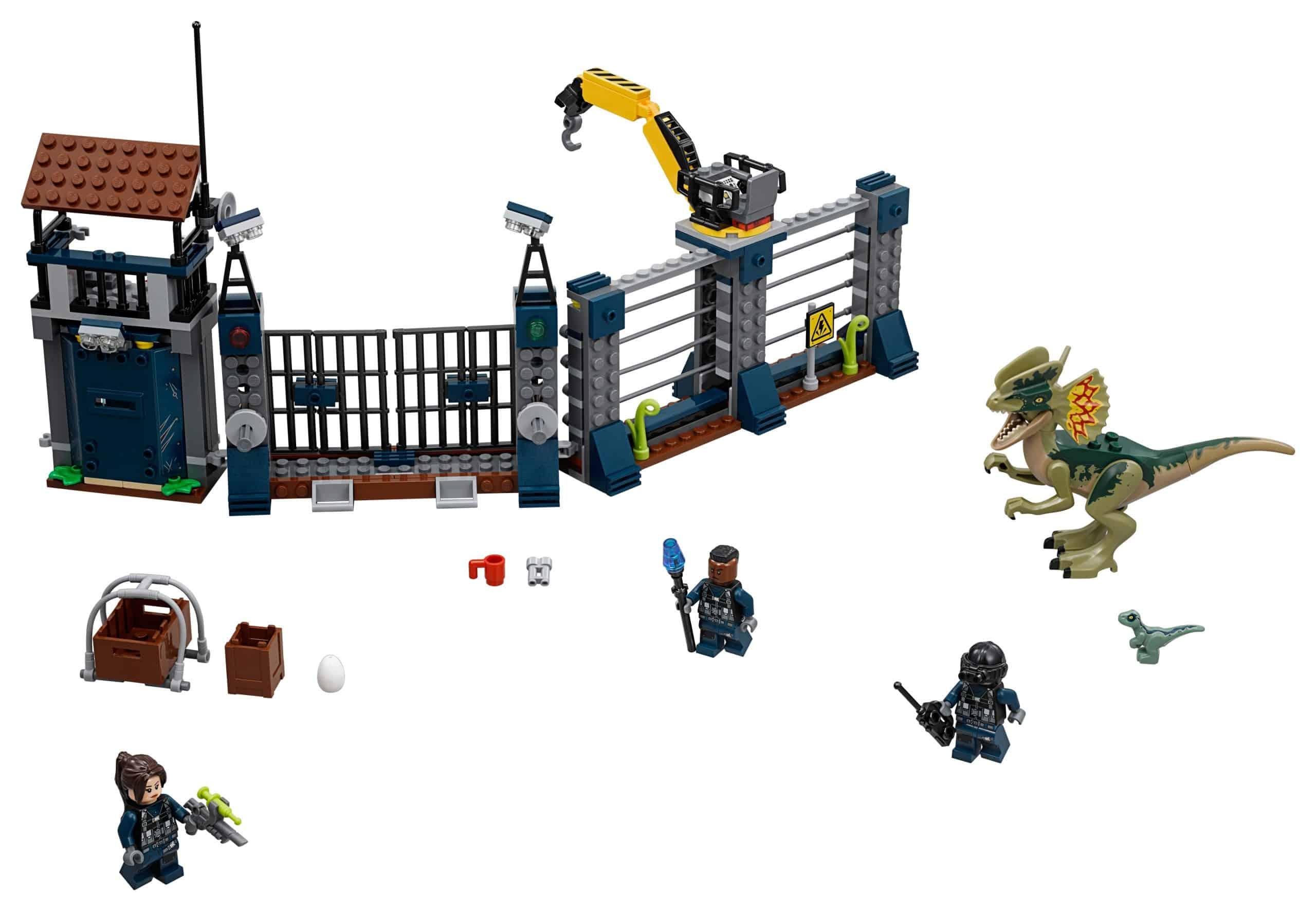 lego aanval op de uitkijktoren van dilophosaurus 75931 scaled