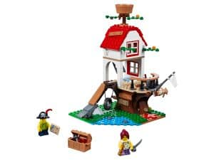 lego boomhutschatten 31078