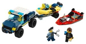 lego elite politieboot transport 60272