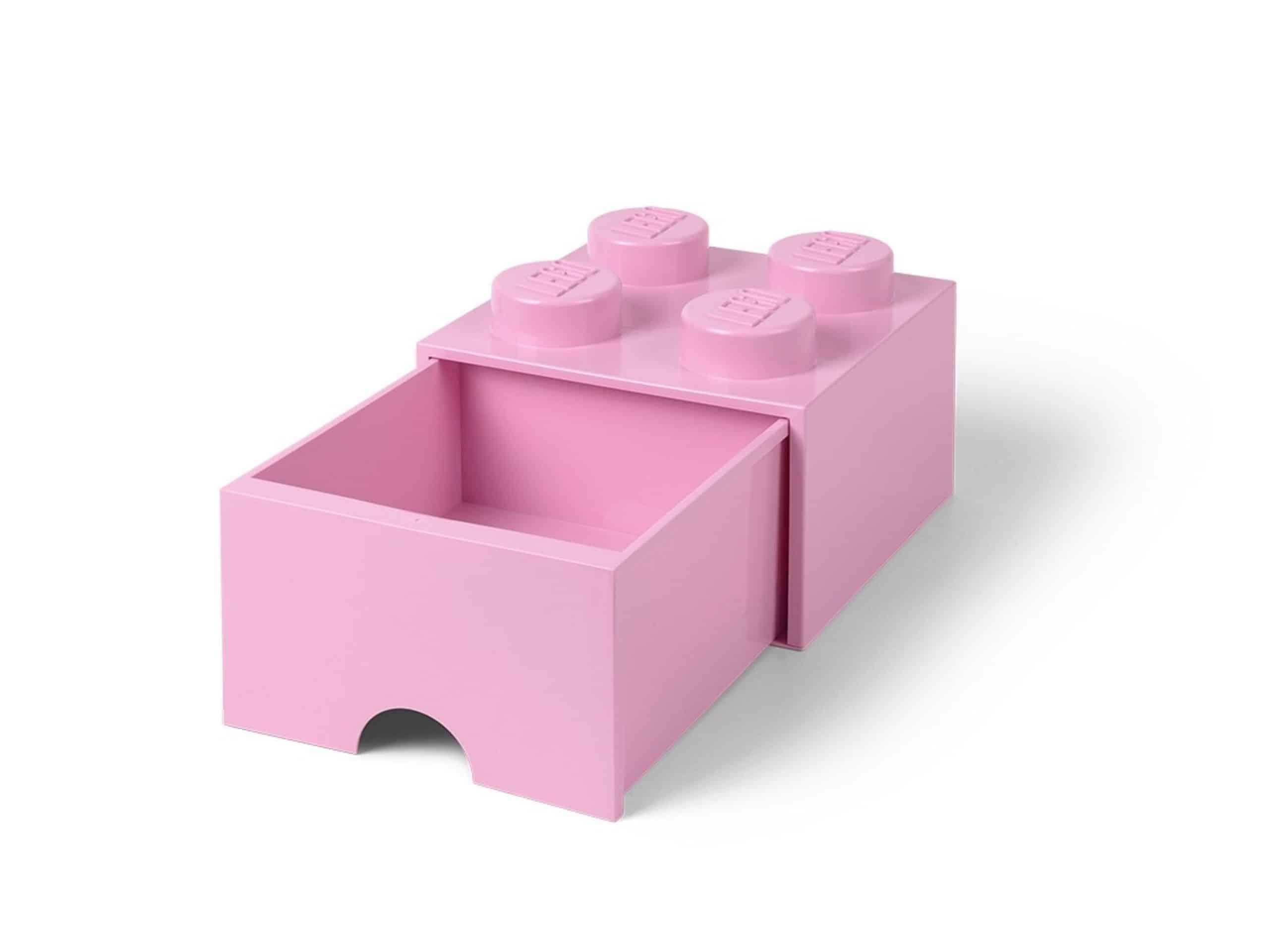 lego felpaarse opslagsteen met 4 noppen en een lade 5006173 scaled