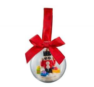 lego kerstversiering met speelgoedsoldaat 853907