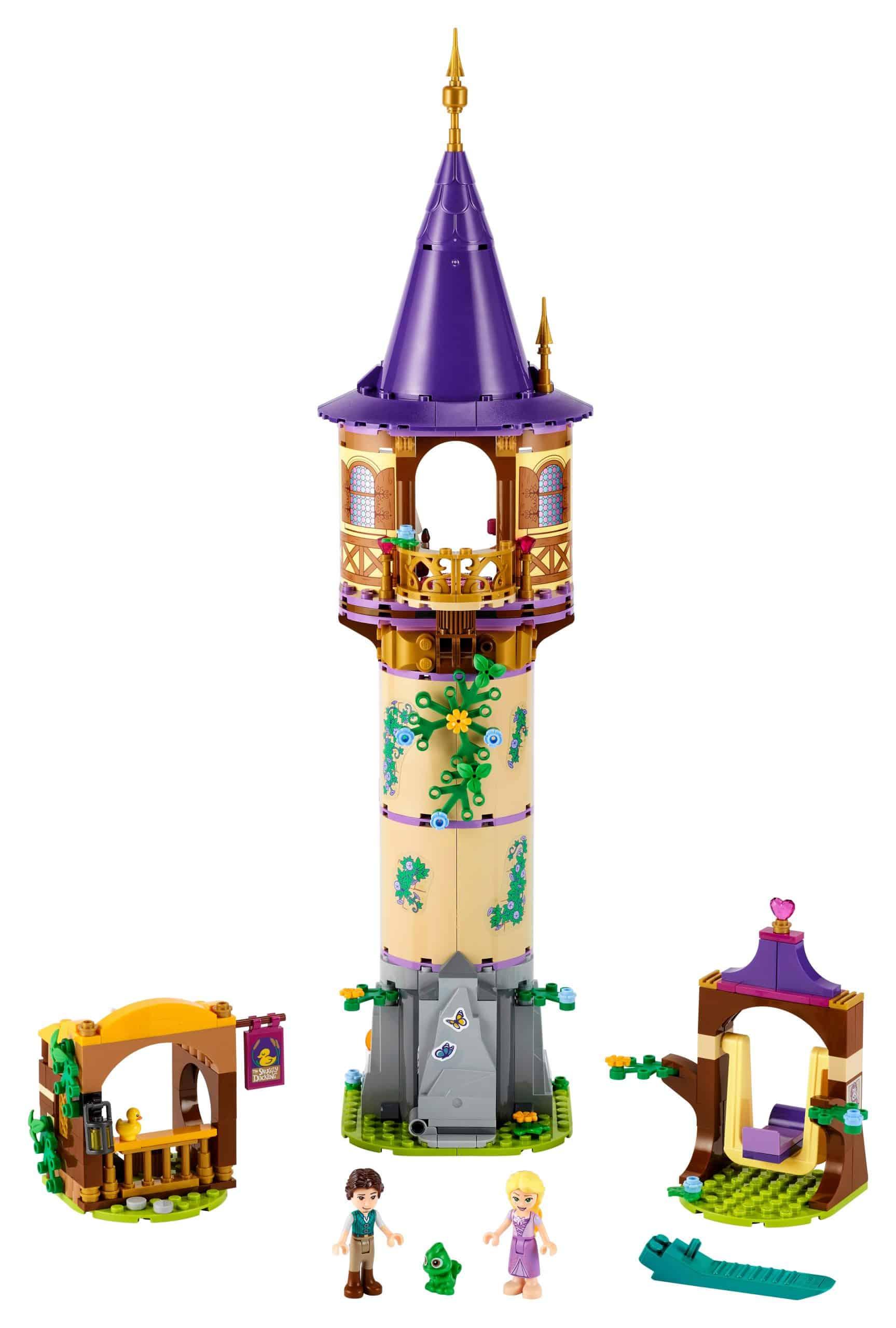 lego rapunzels toren 43187 scaled