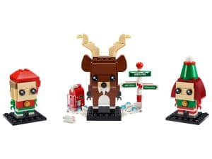 lego rendier elf en elfie 40353