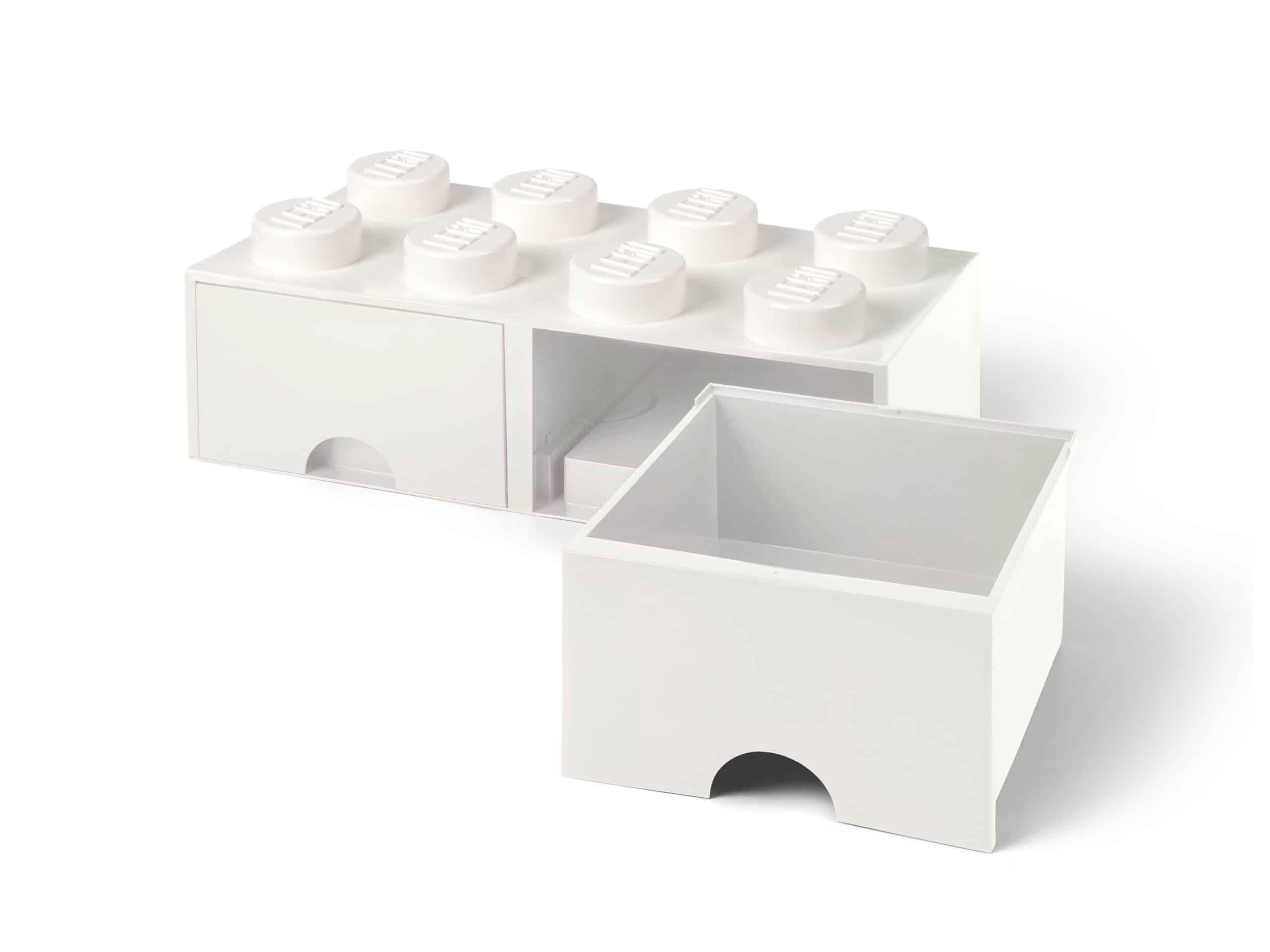 witte lego opbergsteen met 8 noppen 5006209 scaled
