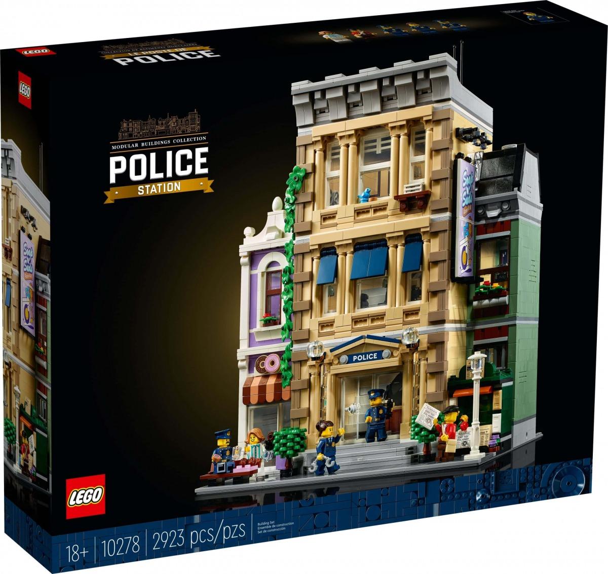 LEGO 10278 Politiebureau