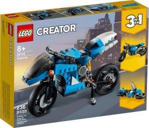 lego 31114 snelle motor