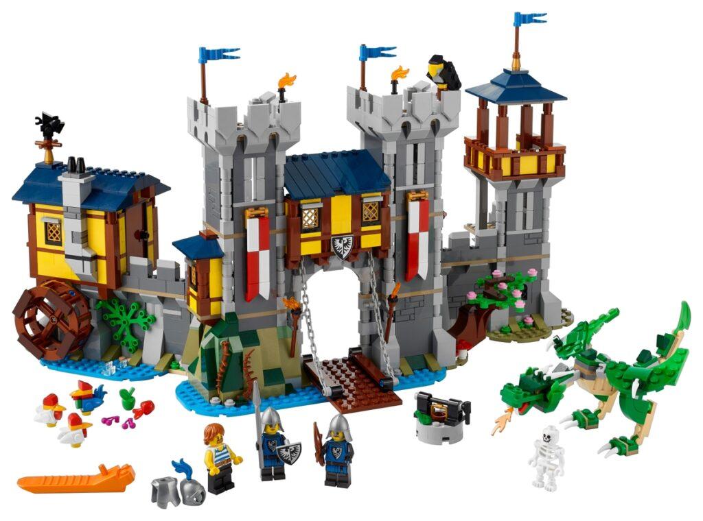 LEGO 31120 Middeleeuws kasteel - Detail 2