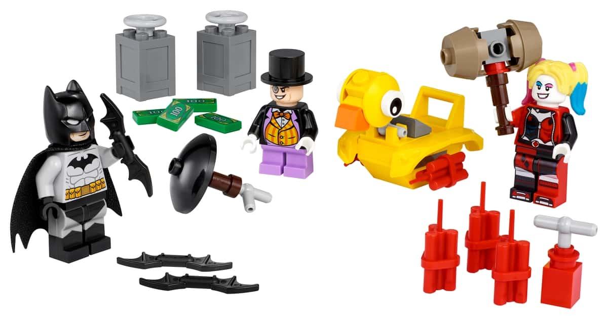 lego 40453 batman vs de pinguin en harley quinn