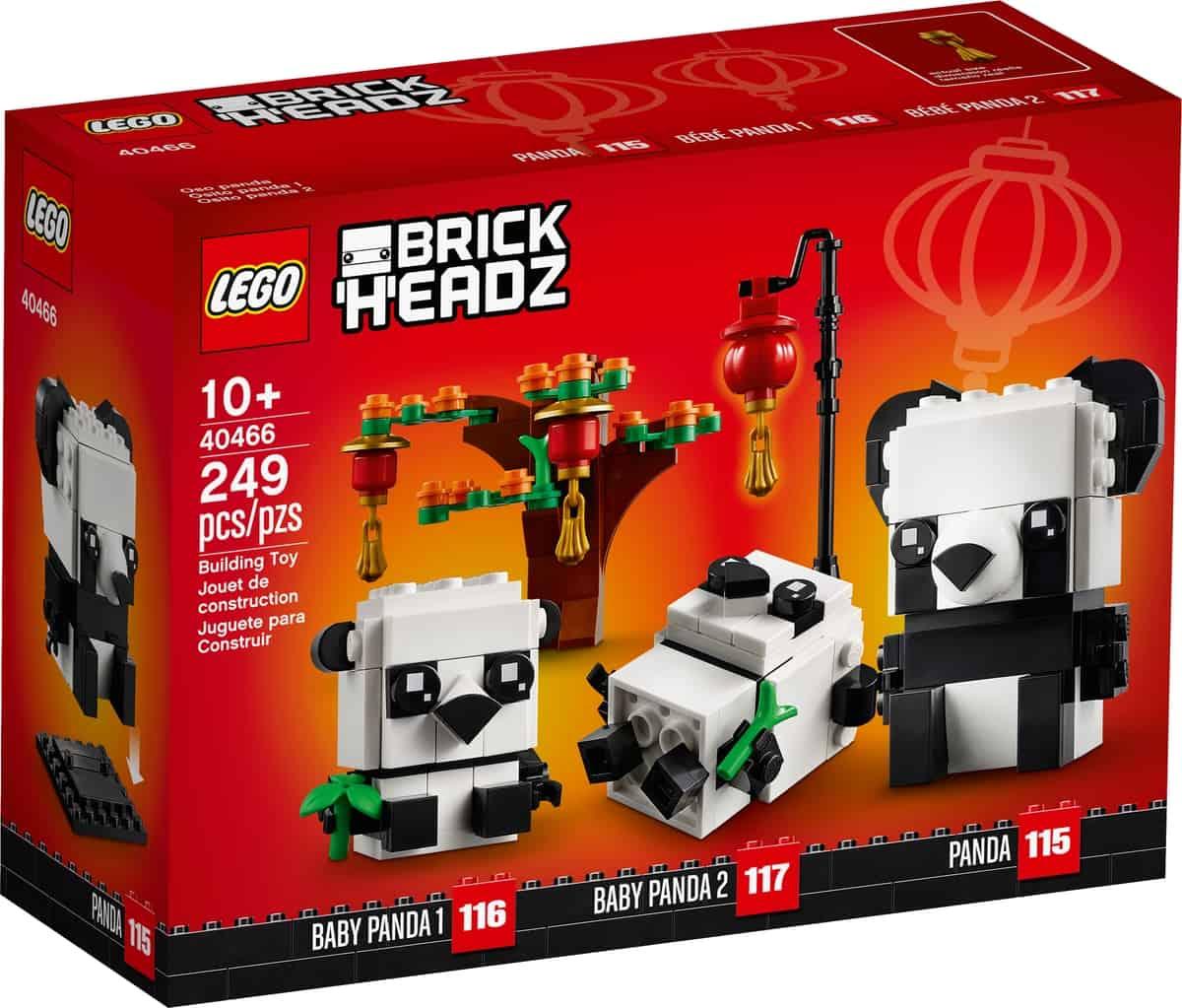 lego 40466 pandas voor chinees nieuwjaar
