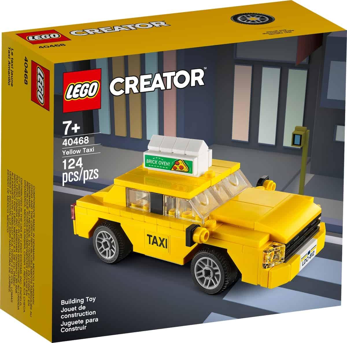 lego 40468 gele