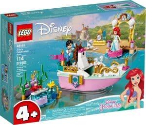 lego 43191 ariels feestboot