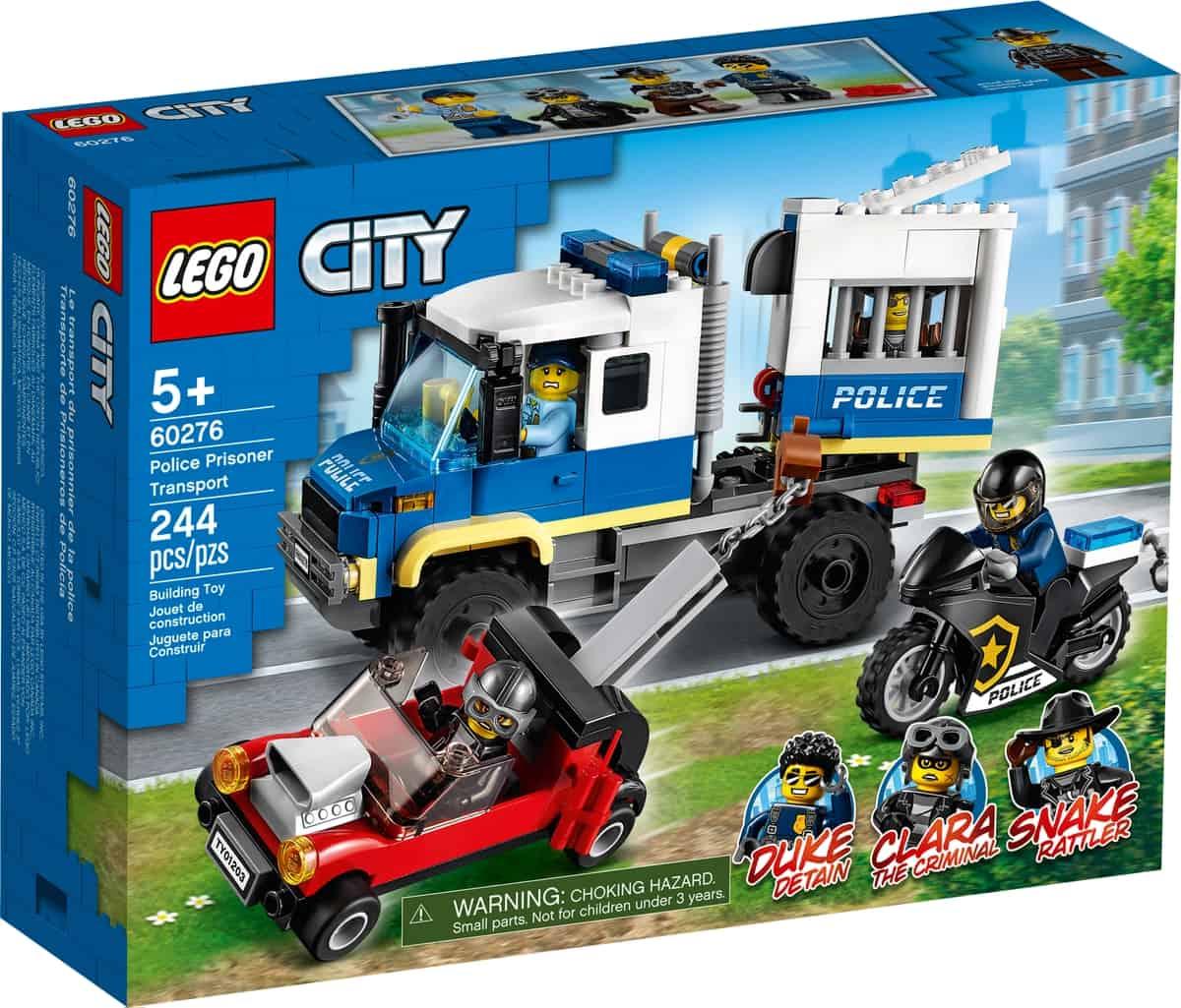 lego 60276 politie gevangenentransport