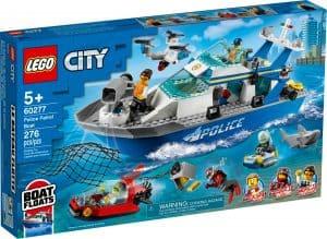 lego 60277 politie patrouilleboot
