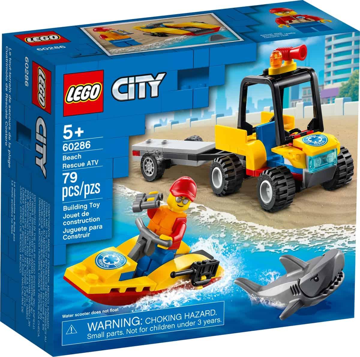 lego 60286 atv strandredding
