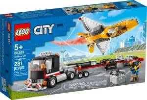 lego 60289 vliegshowjettransport