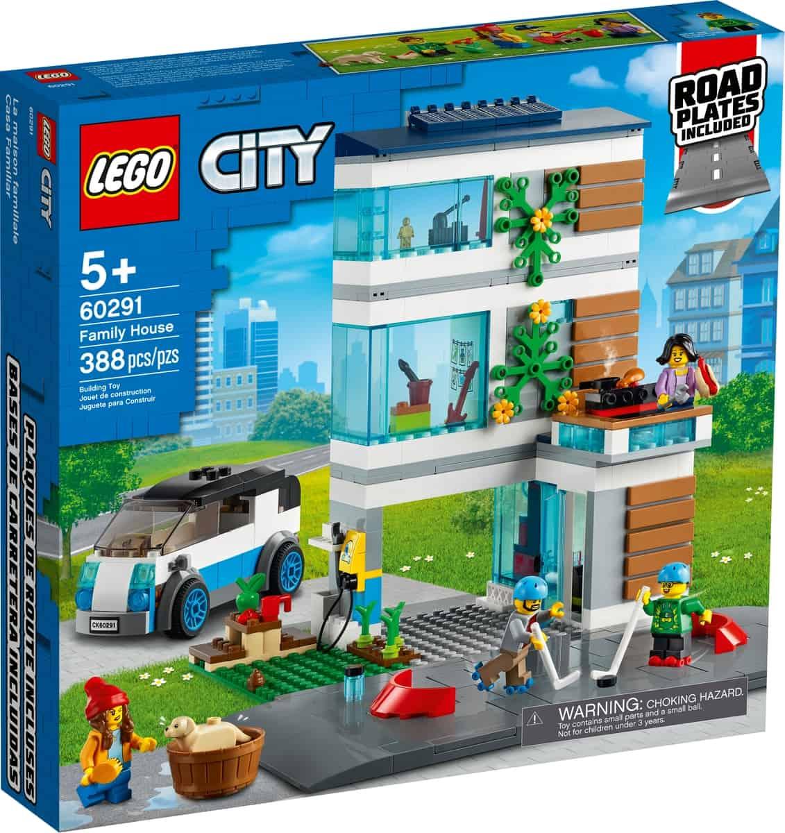 lego 60291 familiehuis