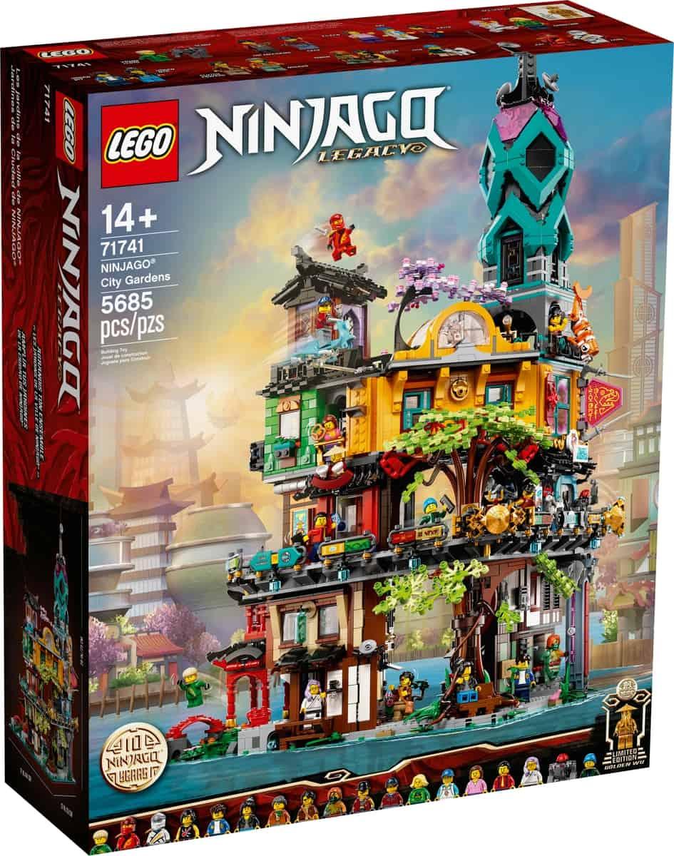 lego 71741 ninjago stadstuinen