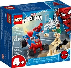 lego 76172 spider man en sandman duel