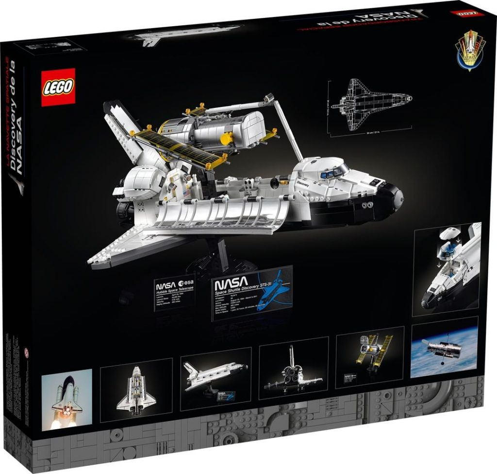 LEGO Space Shuttle Discovery (10283) - back