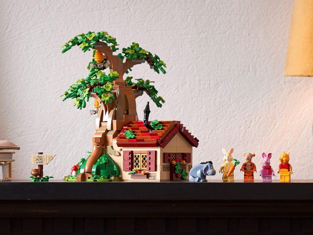 Minifiguren van LEGO 21326 Winnie de Poeh