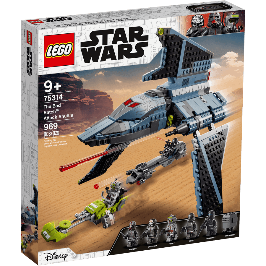 LEGO 75314 The Bad Batch aanvalsshuttle - 20210506