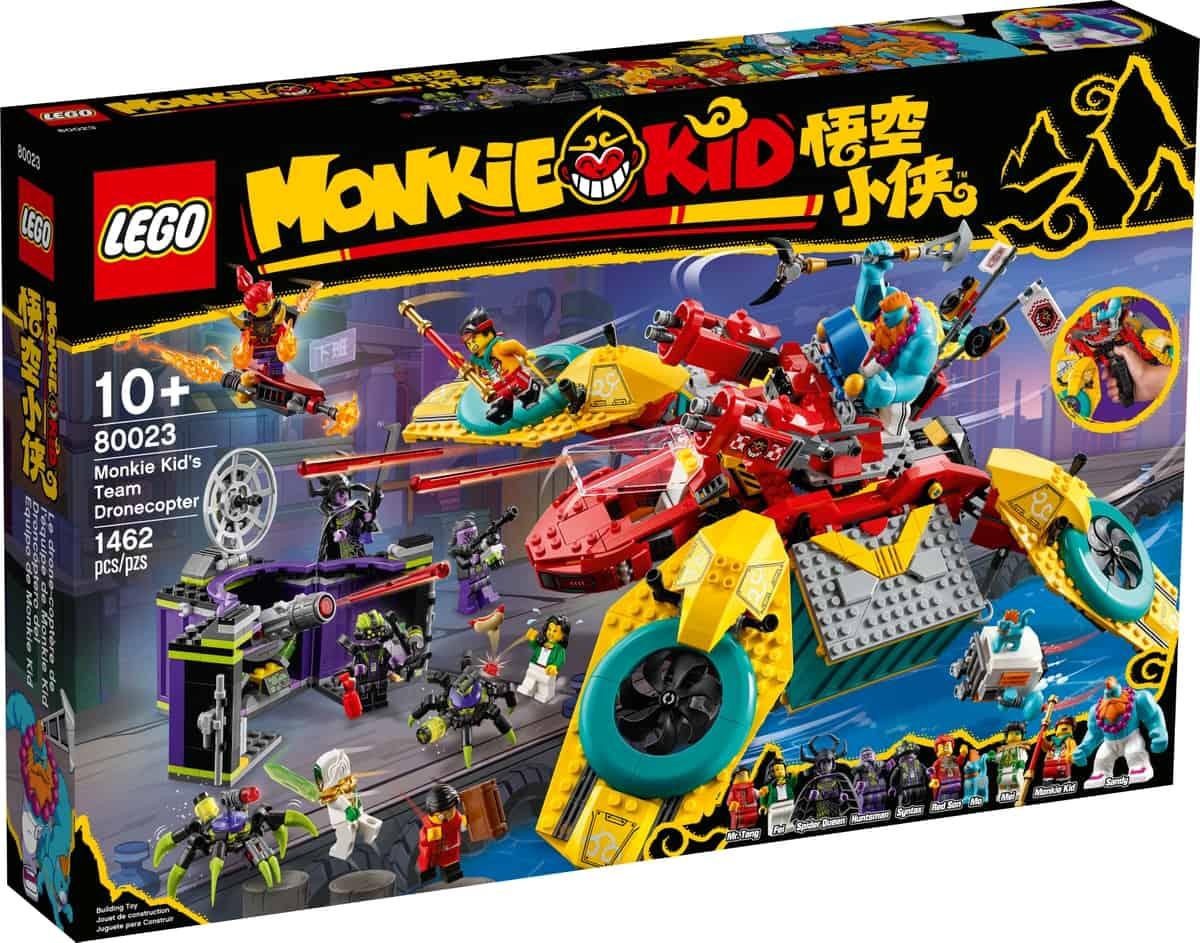 lego 80023 monkie kids team dronecopter