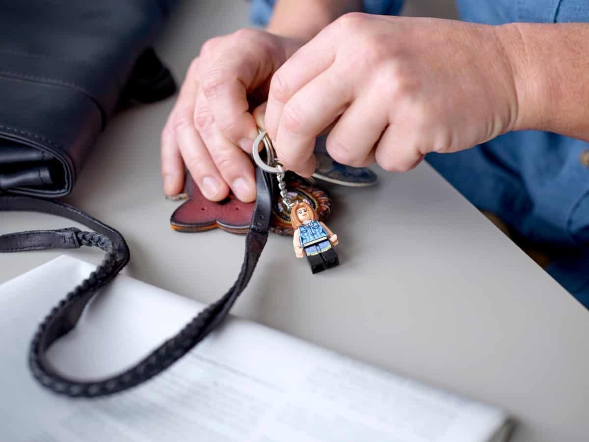 lego 854120 rachel sleutelhanger