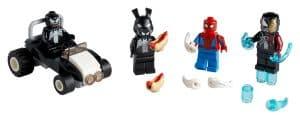 lego 40454 spider man versus venom en iron venom