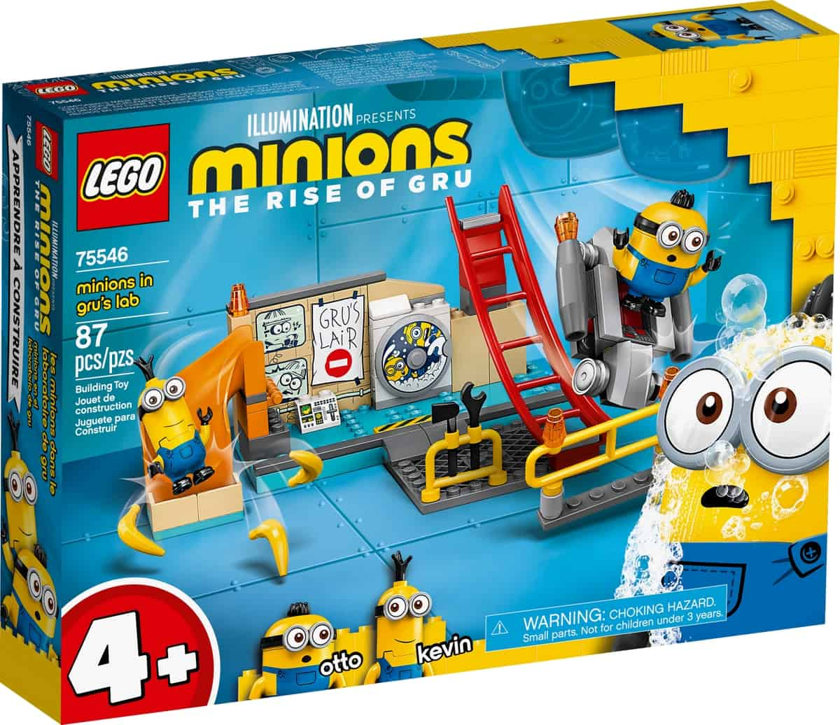 lego 75546 minions in grus lab