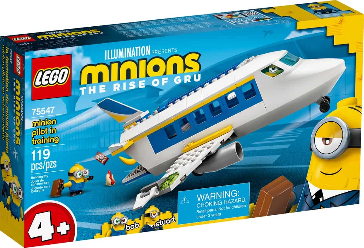lego 75547 training van minion piloot