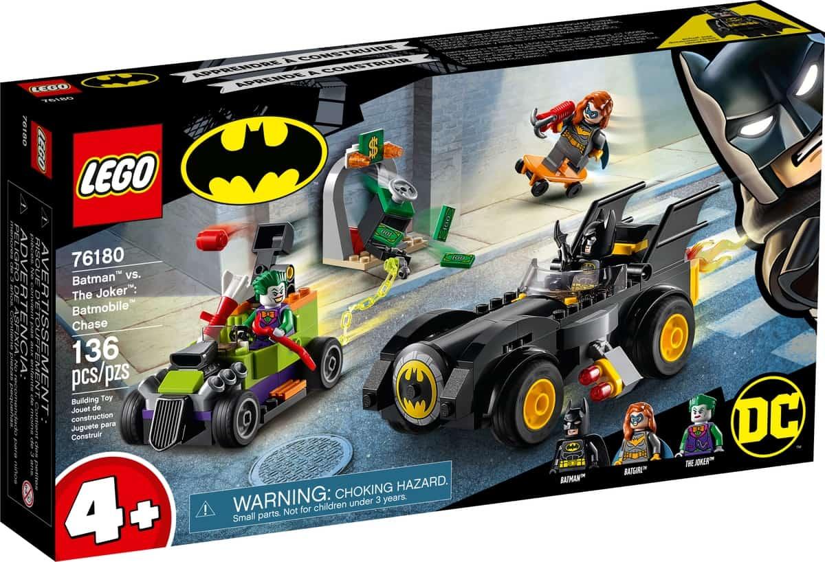 lego 76180 batman vs the joker batmobile achtervolging