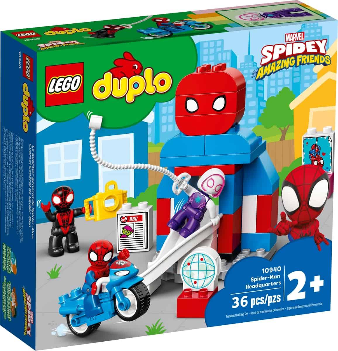 lego 10940 spider man hoofdkwartier
