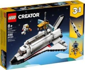 lego 31117 ruimteraket avontuur