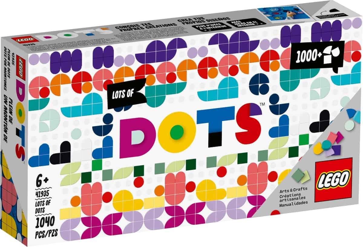 lego 41935 enorm veel dots