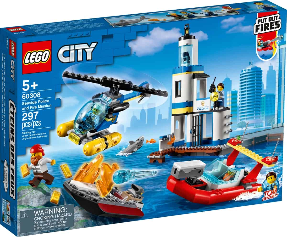 lego 60308 kustpolitie en brandmissie