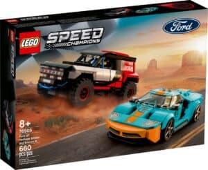 lego 76905 ford gt heritage edition en bronco r