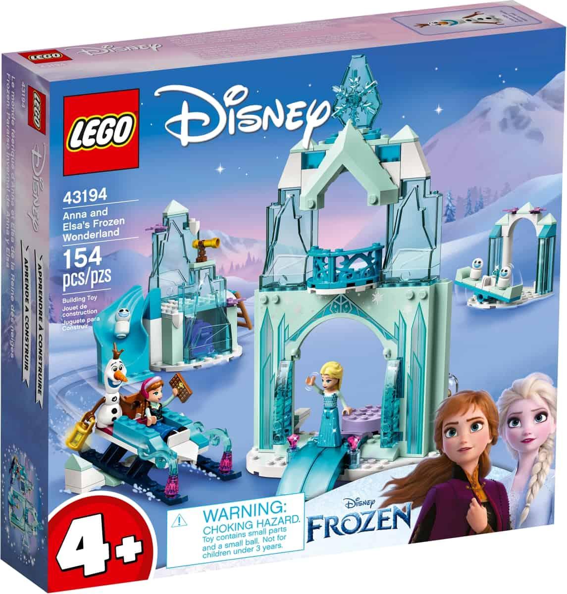 lego 43194 anna en elsas frozen wonderland