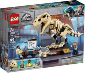 lego 76940 tentoonstelling dinosaurusfossiel van t rex
