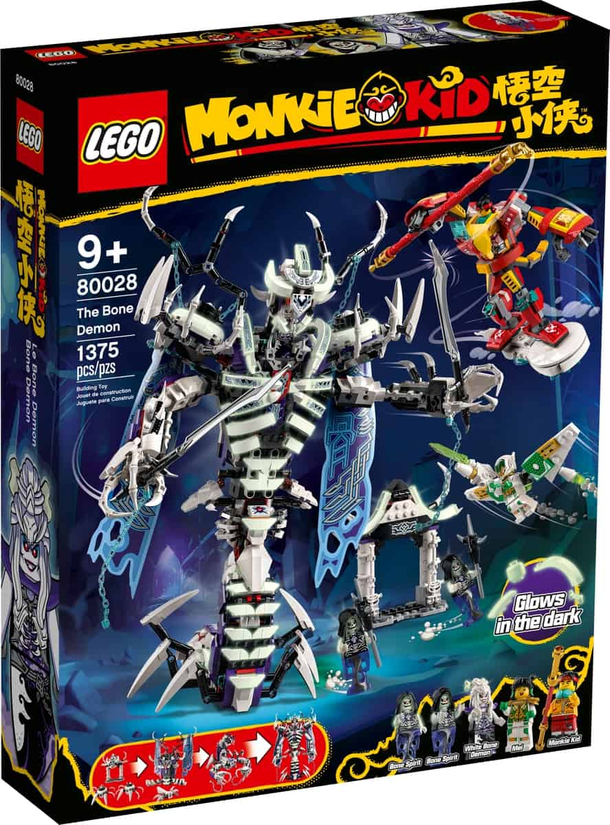lego 80028 de bone demon