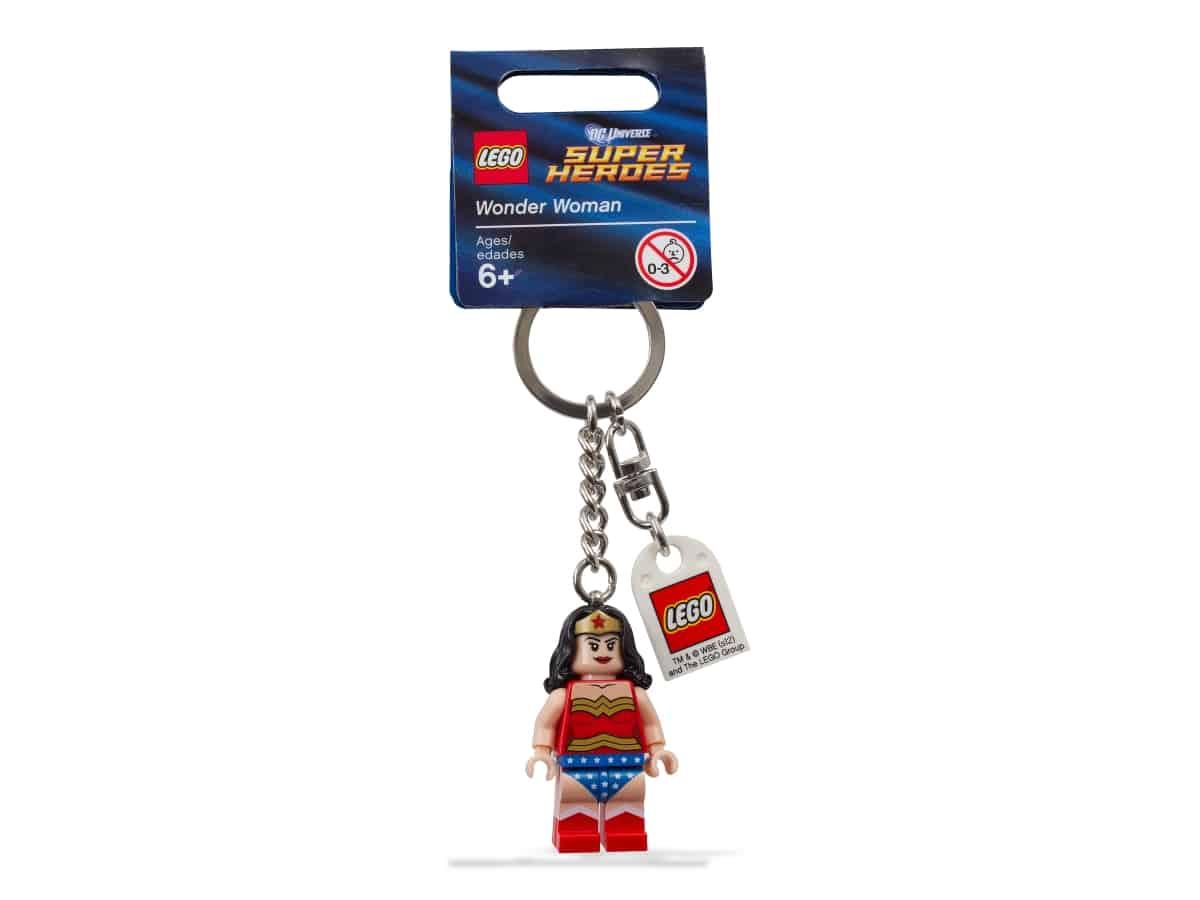 lego 853433 super heroes wonder woman sleutelhanger