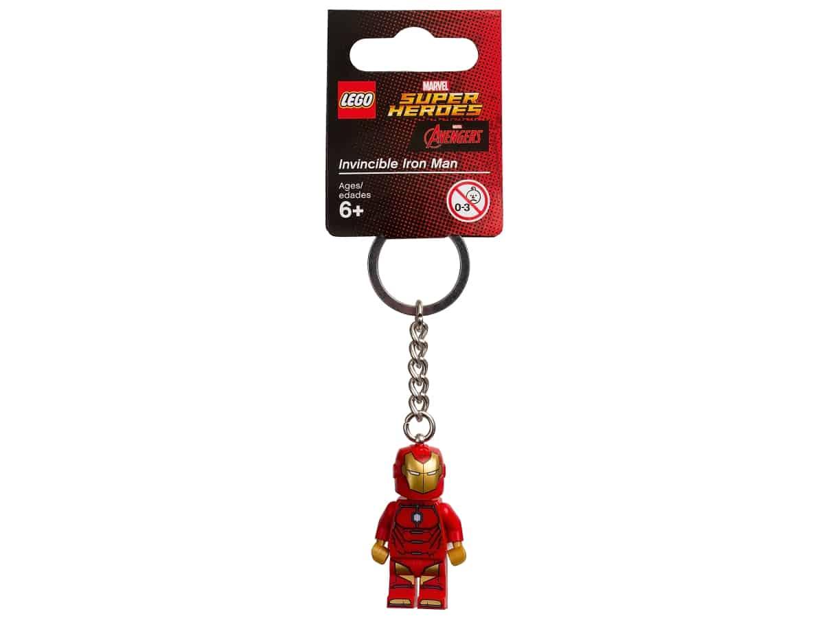 lego 853706 marvel super heroes onoverwinnelijke iron man sleutelhanger