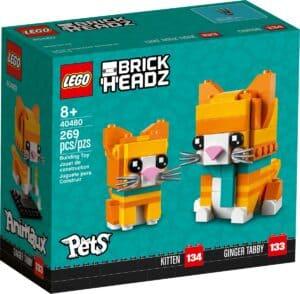 lego 40480 rode gestreepte kat