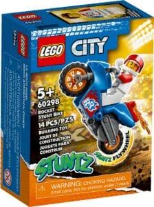 lego 60298 raket stuntmotor