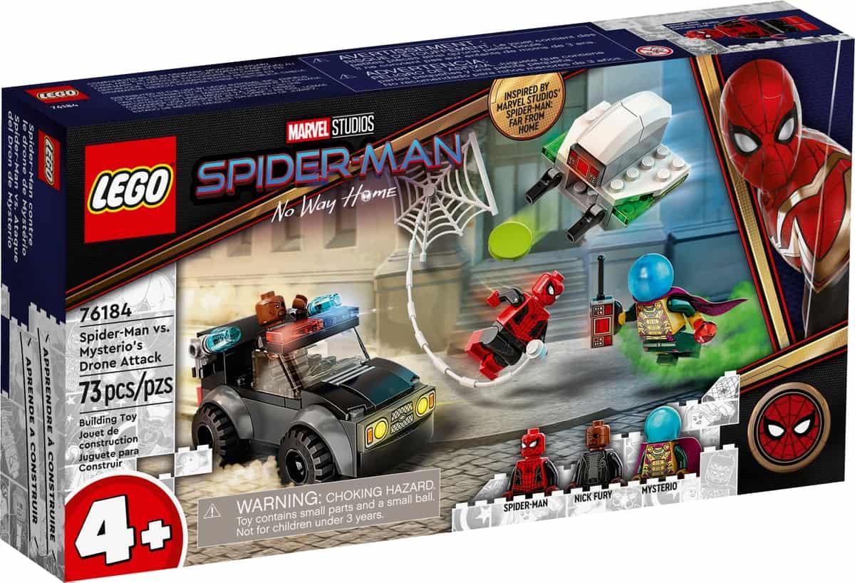 lego 76184 spider man vs mysterio droneaanval